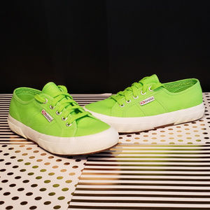 Superga Neon Green Sneakers